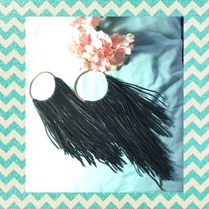 Maya Fringe with Benefits earrings